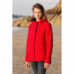 Manteau Fanon rouge
