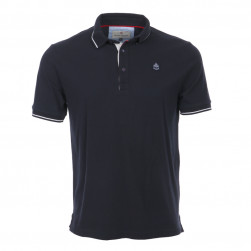 Polo homme manches courtes Marinier - marine