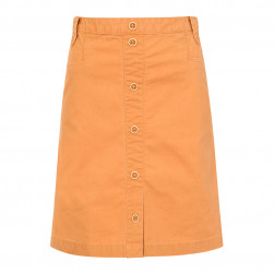 Jupe en coton canvas Klarinette - orange