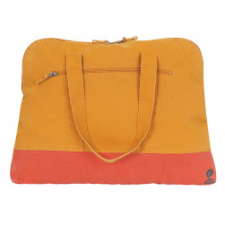 Sac canvas Blez Maxi bleu oranges