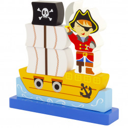 Puzzle magnet Pirate