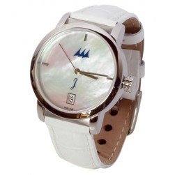 Montre femme Tabarly blanche
