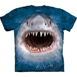 Tee-shirt grand requin blanc